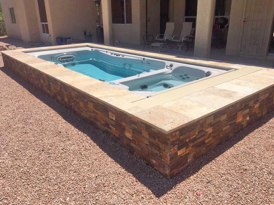 Swim Spas by Pleasure Pools & Spas | Tucson, Vail & Oro ...